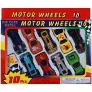 Speelgoed auto pakket 10 stuks