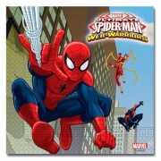 Kinderfeestje Spiderman servetten 20 stuks