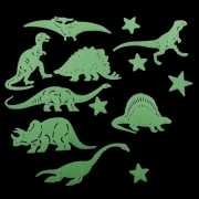 Glow in the dark dino set