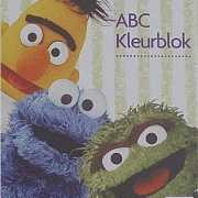 Kleurboek van Sesamstraat