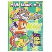DVD met drie kinder series