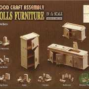 Poppenhuis meubels keuken