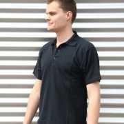 Poloshirt heren navy