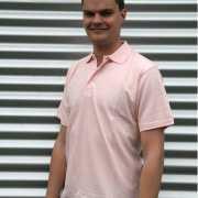 Poloshirt heren roze
