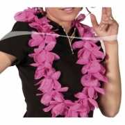 Toppers Luxe roze hawaii krans