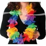 Toppers Luxe gekleurde hawaii krans