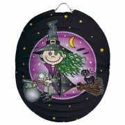 Halloween Heksen lampion 22 cm