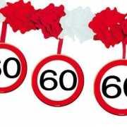 60 jaar slinger met stopborden