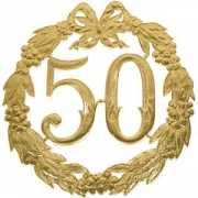 Jubileum cijfer 50 jaar
