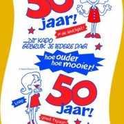 Toiletpapier 50 jaar vrouw