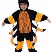 Pluche spinnen kostuum kinderen