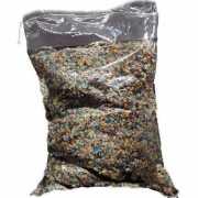 Confetti multikleuren ca. 5 kg in zak