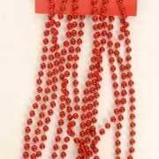 Kerstboom decoratie ketting rood