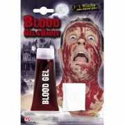 Halloween Tube bloed gel met gaasje