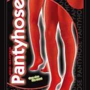 Rode glitter panty 40 denier