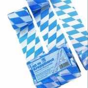 Oktoberfest Bayern crepe papier slinger 40 meter