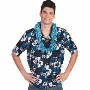 Toppers Blauwe Hawaii blouse Honolulu