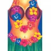 Toppers Hawaii schort vrouw