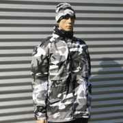 Camouflage heren winterjas city