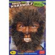 Halloween Weerwolf gezichtshaar