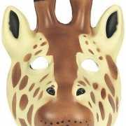 Giraffe masker van soft foam