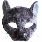 Ratten diadeem masker met geluid