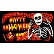 Happy Halloween vlag 150 x 90 cm