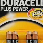 Duracell batterijen AAA 4 pack
