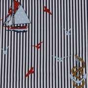 Decoratie stof maritiem per meter