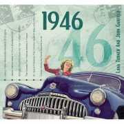 Historische verjaardag Cd kaart 1946
