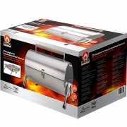 Draagbare RVS barbecue 42 x 29,5 x 37 cm