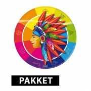 Kinderfeest pakket indianen thema