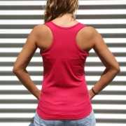 Bodybuilder singlet voor dames