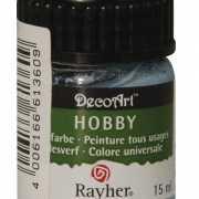 Hobby allesverf lichtblauw 15 ml