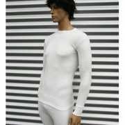 Beeren thermo shirt lange mouw wit