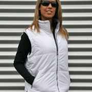 Witte bodywarmer voor dames