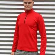 Craft thermo poloshirt rood voor heren