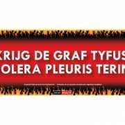 Sticky Devil Krijg de graf tyfus cholera pleuris tering