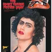 Halloween Zwarte Rocky Horror Picture Show pruik