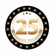 Luxe Bierviltjes 25 jaar