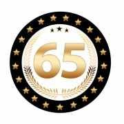 Luxe Bierviltjes 65 jaar
