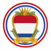 Bierviltjes Holland wapen thema print