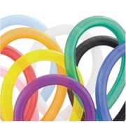 100 gekleurde modelleerballonnen