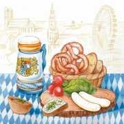 Oktoberfest Servetten Beieren 20 stuks