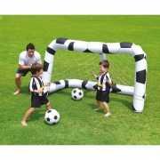 Opblaasbaar voetbal doel