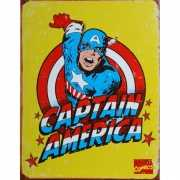 Metalen wandplaat Captain America