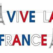 Franse decoratie  letterslinger