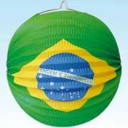 Papieren brandvertragende lampion Brazilie