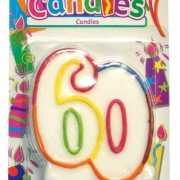 60 Jaar feest kaars