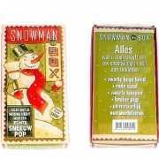 Sneeuwpop verkleed set